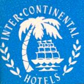 Ducor Inter-Continental Hotel Branding Logo 1962