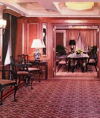 Barclay Inter-Continental Hotel, New York, New York, United States, Neal Prince, International Hotel Interior Designer