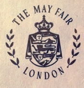 May Fair InterContinental Hotel Branding Logo 1982