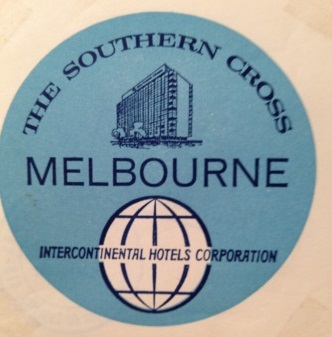 Southern Cross Inter-Continental Hotel, Melbourne, Australia